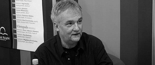 Jerzy Pilch, fot. Mgieuka, CC BY 3.0, Wikimedia Commons